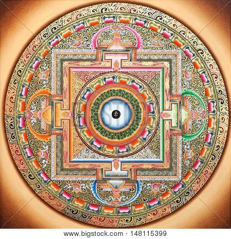 Wheel of Life mandala